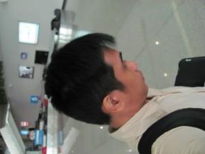 Arrival of Motivational Speaker Lloyd Luna at Ho Chi Minh International Airport
