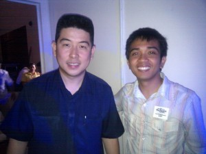 Mang Inasal owner Injap Sia and motivational speaker Lloyd Luna