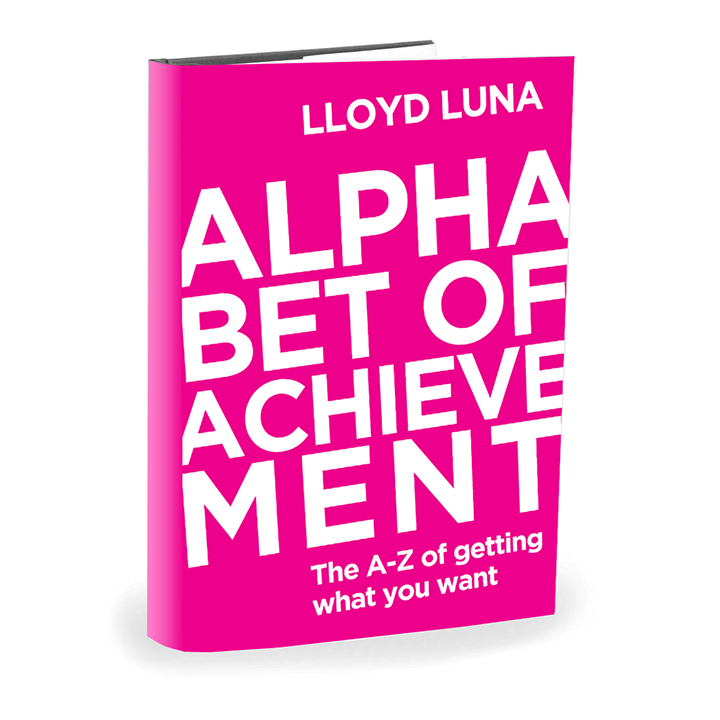 Alphabet of Achievement Motivational Book by Lloyd Luna