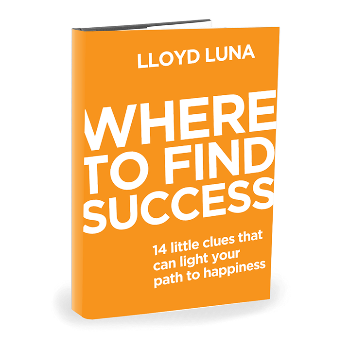 Where To Find Success Motivational Book by Lloyd Luna