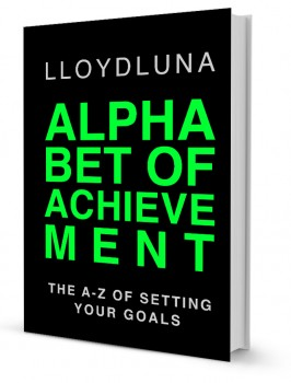 Alphabet of Achievement Goal Setting Book by Lloyd Luna