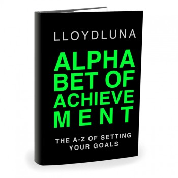 Alphabet of Achievement by Lloyd Luna