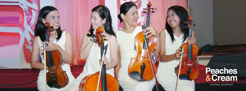 String Quartet in Manila Philippines for Weddings and Special Events