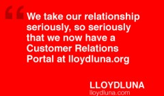 Customer Relations Management LLOYDLUNA