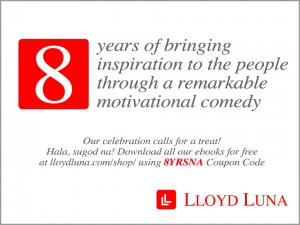 8th Years Anniversary of Lloyd Luna