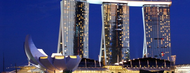 Marina-Bay-Sands-Hotel-Skypark-Singapore-from-Waterfront-Esplanade