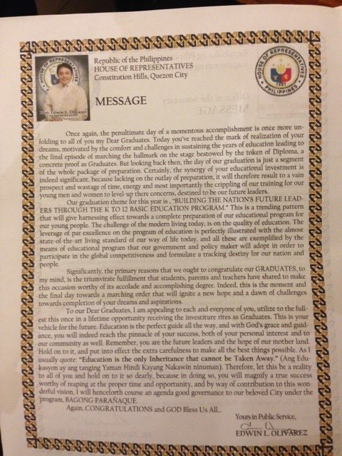 Graduation Speech Philippines Archives • The Best Filipino ...